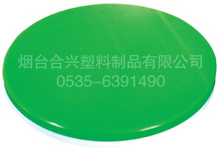 绿白双色塑料砧板