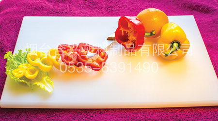 20mm彩色料理塑料菜板应用图
