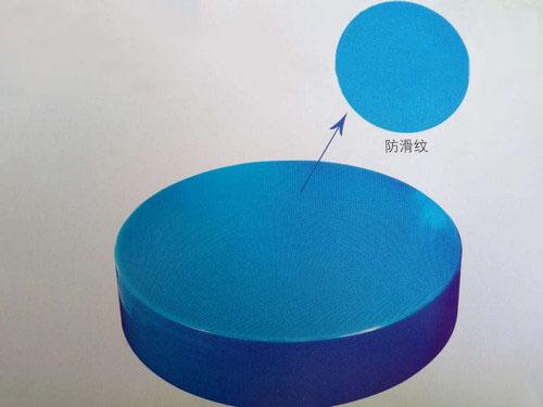 塑料砧墩防滑纹细节图